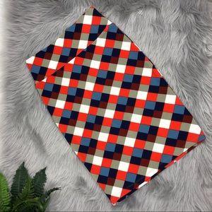 LulaRoe Geometric Cassie Pencil Skirt Size XS